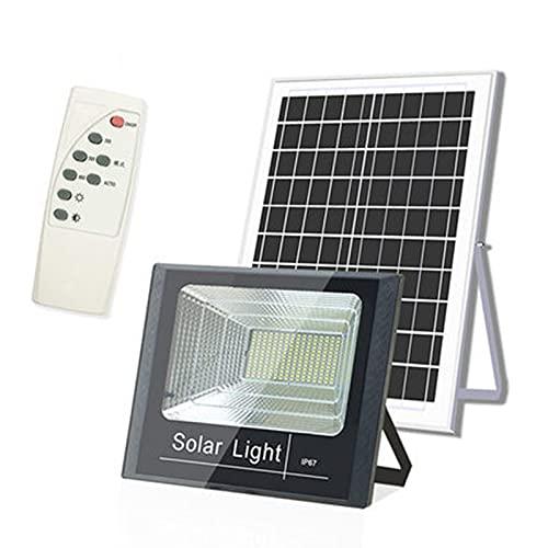 108 Led Solar Flutlicht 100w, 7000LM Solarleuchten Für Außen 6000k Weißes Licht, IP67 wasserdichte Solar Straßenlaterne Mit Fernbedienung Für Garten, Auffahrt, Pool(Size:100w)