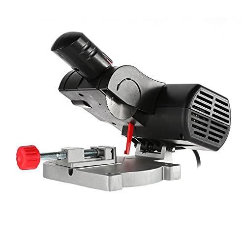Ginorgee Metallschneidende Kappsägen - Mini-Trennsäge 110V/220V Tischkreissäge Trennsägemaschine Elektrowerkzeug für Metallholz(220V)