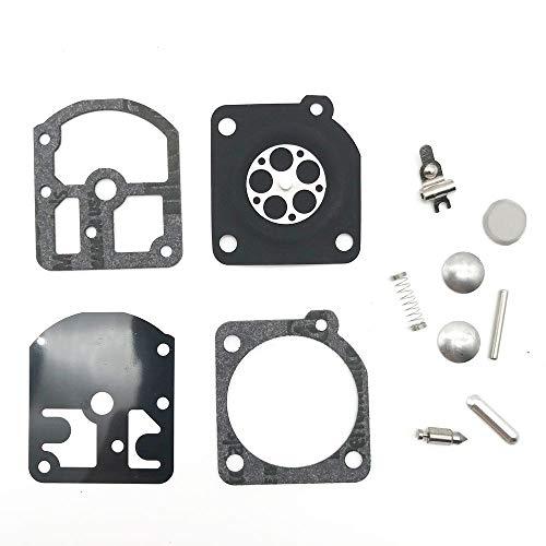 CMOIR Vergaser & Zubehör Ausgezeichneter Qualitäts-Vergaser-Reparatur-Kit für Stihl Echo FS160 FS180 FS220 FS220 FS220 FS290 FS290 FS290 für Zama RB-13 Kettensäge Rasenmäher