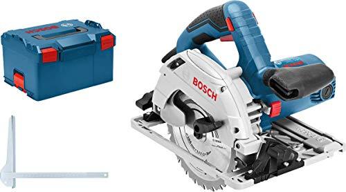 Bosch Professional Handkreissäge GKS 55+ GCE (1350 Watt, Sägeblatt-Ø: 165 mm, 1x Kreissägeblatt, in L-BOXX)