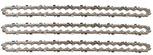 3 tallox Sägeketten 3/8' 1,3 mm 44 TG 30 cm Schwert kompatibel mit Stihl Motorsägen