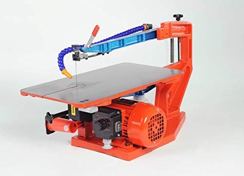 Hegner Feinschnittsäge Multicut SE mit Fußpedal (elektr. Drehzahlregelung 400 – 1400 U/min; Dekupiersäge...