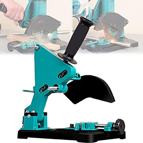 LXX Winkelschleiferständer Trennständer für Winkelschleifer Schneidemaschine Tischkreissäge mit Gusseisensockel, Perfekt für DIY-Liebhaber