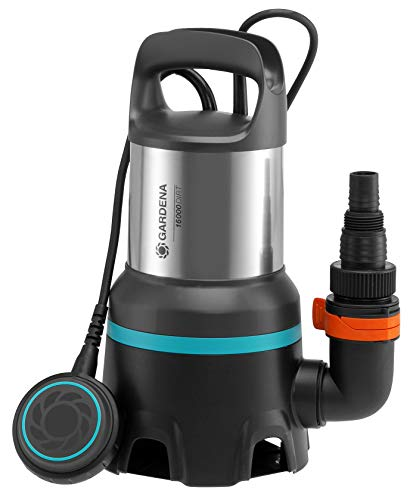 GARDENA 09042-20 Schmutzwasser-Tauchpumpe 16000, Standard, small