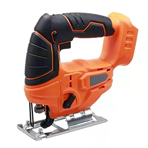 HEQIE-YONGP Cordless Puzzle Electric Jig Saw Multifunktions-tragbare Geschwindigkeit, die Holzbearbeitung mit Batterien-Tool einstellen (Color : with 1 Battery)