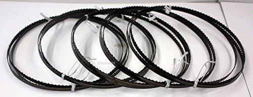 5 x Standard Sägeband Bandsägeband Bandsägeblatt Sägebänder 1400 mm x 6 mm x 0,65 mm x 6 Zähne pro Zoll...