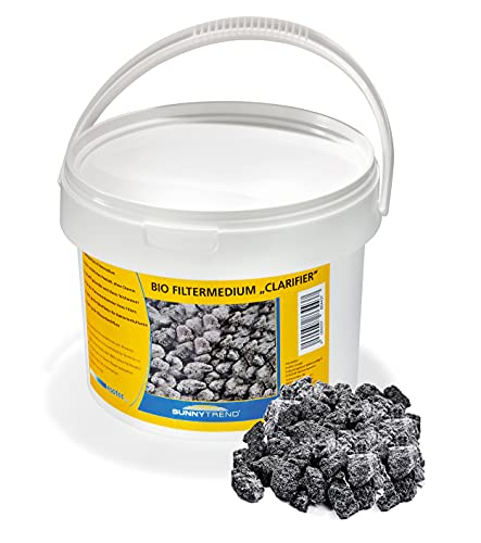 Bio Filtermedium poröse Struktur für optimales Bakterienwachstum und sauberes Wasser natürliches Filtermaterial Teichfilter 101077