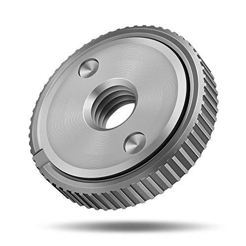 Ventvinal Schnellspannmutter SDS Clic M14, für alle Winkelschleifer von AEG, Black & Decker, Dewalt, Flex, Hitachi, Metabo, Makita etc.(1x spannmutter)