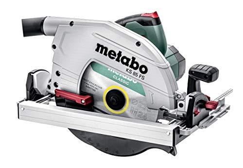 Metabo Handkreissäge KS 85 FS (Säge mit Sägeblatt ø 235 mm, 2000 W, Schnittgeschwindigkeit 55 m/s, Kabellänge 4 m, mit Koffer) 601085500