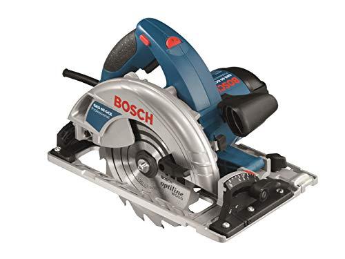 Bosch Professional Handkeissäge GKS 65 GCE (inkl. Absaugadapter, Innensechskantschlüssel SW 5, 1x Kreissägeblatt, L-BOXX 238)