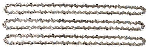 3 tallox Sägeketten 3/8' 1,3 mm 52 TG 35 cm Schwert kompatibel mit Oregon Bosch Dolmar Hitachi Echo Einhell...