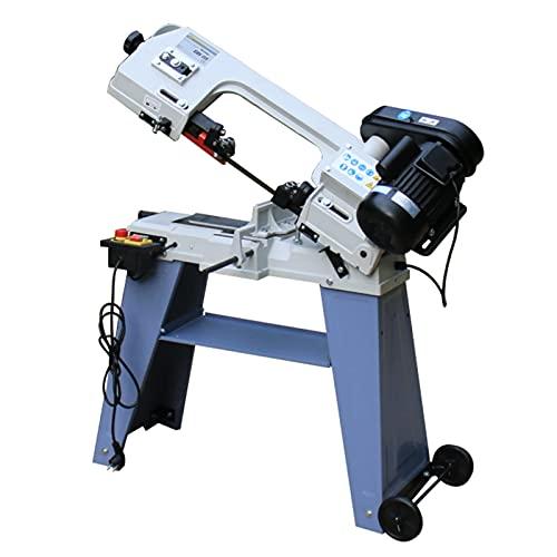 LDFANG Holzbearbeitung Metallbandsäge Multifunktionsbandsäge Sägemaschine 750W Edelstahl Schneidemaschinen Werkzeuge