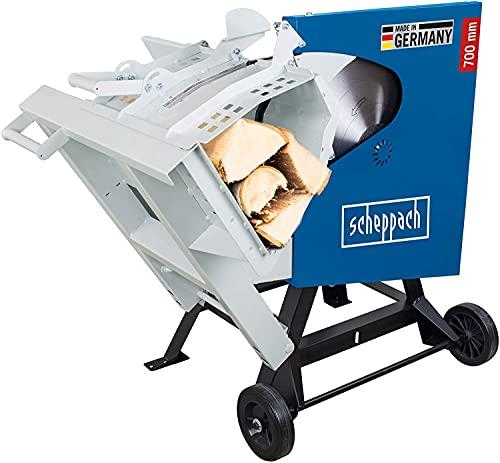 scheppach Wippsäge Brennholzsäge HS720 -230V | 2100W | Sägeblatt Ø 700mm | Schnitthöhe 60-240mm | max....