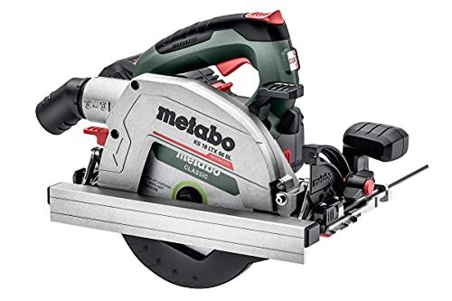 Metabo KS 18 LTX 66 BL Akku-Handkreissäge 18V 2x LiHD- Ladegerät ASC 145- metaBOX 340 - 611866660