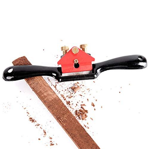 verstellbares flaches Spokeshave-Holzhobel-Tischlerhandwerkzeug,Schweifhobel, Holzbearbeitung Einstellbar...