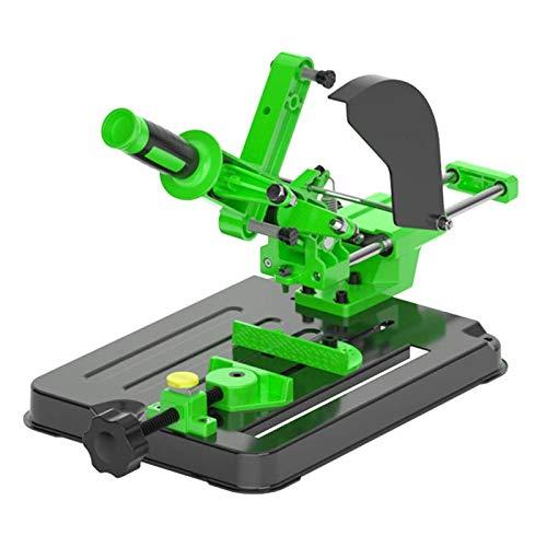 Winkelschleifer Halterung,Poliermaschine Umrüstschneidemaschine Tischkreissäge Multifunktionale Desktop-Zugstange Winkelschleifmaschine Ständer für 100 und 125 Winkelschleifer