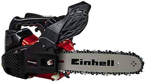 Einhell Einhand-Benzin-Kettensäge GC-PC 730 I (0.7 kW, 30.5 cm Schwertlänge, 24 cm Schnittlänge, 21 m/s, Rückschlagschutz, Automatische Kettenschmierung,inkl. Schwertschutz und Ersatzkette)