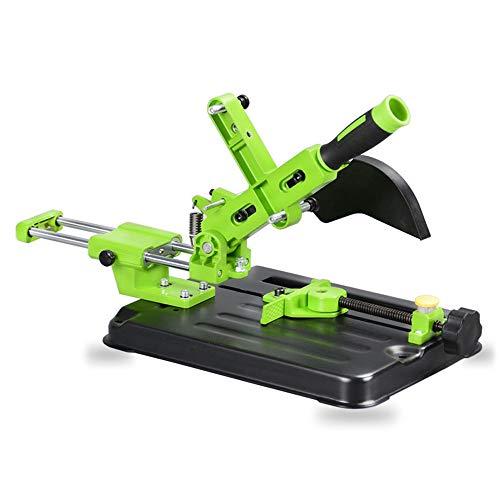 Winkelschleifer Halterung,Poliermaschine Umrüstschneidemaschine Tischkreissäge Multifunktionale Desktop-Zugstange Winkelschleifmaschine Ständer für 100/115/125 Winkelschleifer