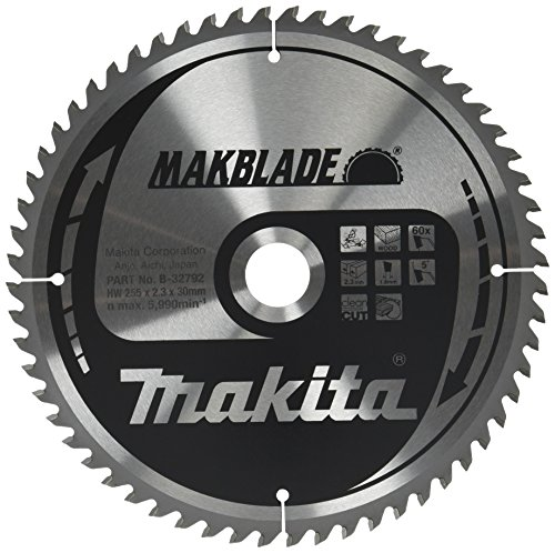 Makita Makblade Saegeblatt, 255 x 30 mm, 60Z, B-32792