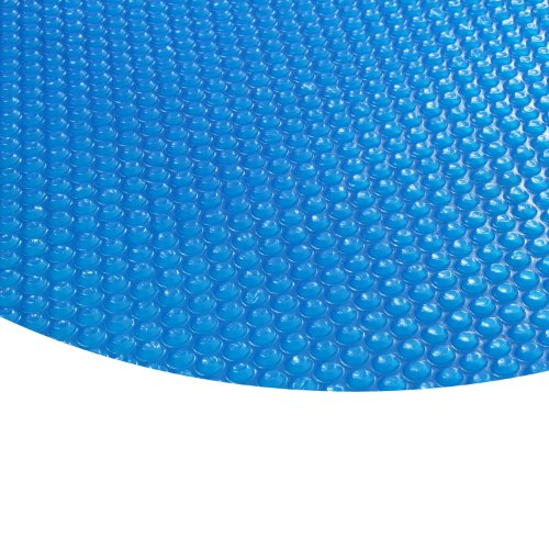 Zelsius - Runde Solarfolie Poolheizung Solarplane, blau - 400µ - 5 Meter Durchmesser