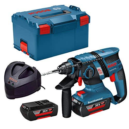 Bosch Professional + COM + +GBH 36V-EC Compact 2 x 2,0Ah L-Box, 180 W, 36 V