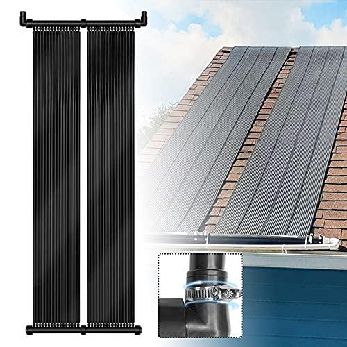 LARS360 Poolheizung Solarheizung Solarkollektor 500 x 70 cm Solarmatte für Swimming Pools