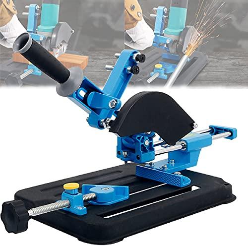 LXX Winkelschleifer Halterung Ständer, Trennständer für Winkelschleifer, Schneidemaschine Tischkreissäge Poliermaschine zum Schneiden und Schleifen