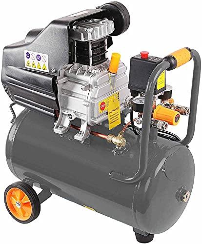 Kompressor 8 Bar 180 l/min Kesselinhalt: 24 L 1100 W (ca 1,5 PS) 2 Schnellkupplungen Druckluftkompressor