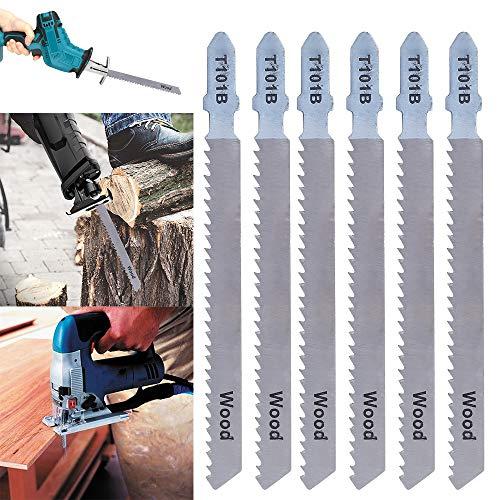 Beenle-Icey 25 Stück Universal-Sägeblätter, Sägeblatt für allgemeine Sägeblätter zum Schneiden von Metall und Holz, kompatibel mit Bosch Makita Abriebfestigkeit (25 Stück)