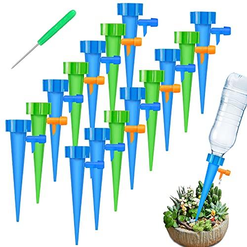 FYLINA Bewässerungssystem 15 Stück Automatisch Bewässerung Set Instellbar Einfaches Zum Gießen von Gartenpflanzen Blumen Bewässerung Zimmerpflanzen Pflanzen Bewässerung Urlaub