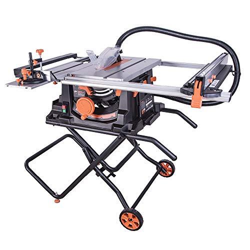 Evolution Power Tools 057-0003 Rage 5-S Mehrzweck-Tischkreissäge, 255 mm (230 V), 1500 W
