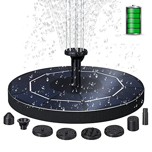 ARTISTORE 3.5W Super-Hochleistungs-Springbrunnen, 2021 Upgrade Solar Teichpumpe mit 6 Effekte, Solar schwimmender Fontäne Pumpe für Gartenteich & Fisch-Behälter Springbrunnen Vogel-Bad