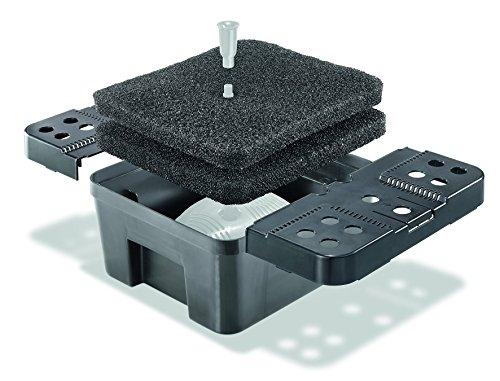 Filterbox XL inkl. Filterschwämme für Solar Teichpumpen Teichfilter Gartenteich Pumpe esotec 101732