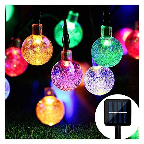 Solar Lichterkette-Mr.Twinklelight 4.5M 30er LED Lichterkette Außen Kristall Kugeln Garten Licht für Garten,...