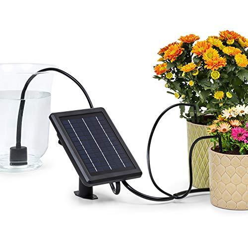 blumfeldt Greenkeeper Solar Bewässerungssystem, inkl. Solarpanel, Batterie: 1.500 mAh, umweltfreundlich, für...