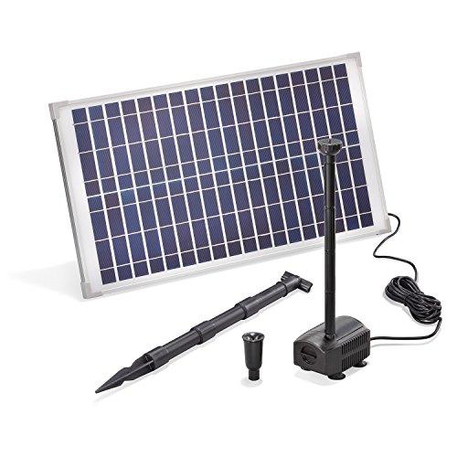Solar Teichpumpe 25 Watt Solarmodul 875 l/h Förderleistung 2,4 m Förderhöhe esotec Professional...