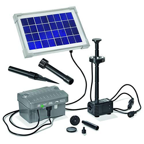 Esotec 101775 Solar-Teichpumpenset mit Akkuspeicher Größe 1