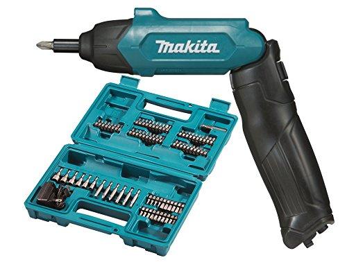 Makita Akku-Stabschrauber (mit 81tlg. Zubehör, 6 W, 3.6 V) DF001DW