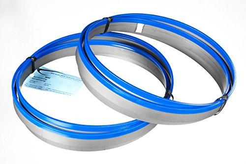 2er SET Bandsägeblatt Bi-Metall M 42 Abmessung 2480x27x0,90 mm 6/10 ZpZ z.B. für Optimum, Epple, Holzmann,...