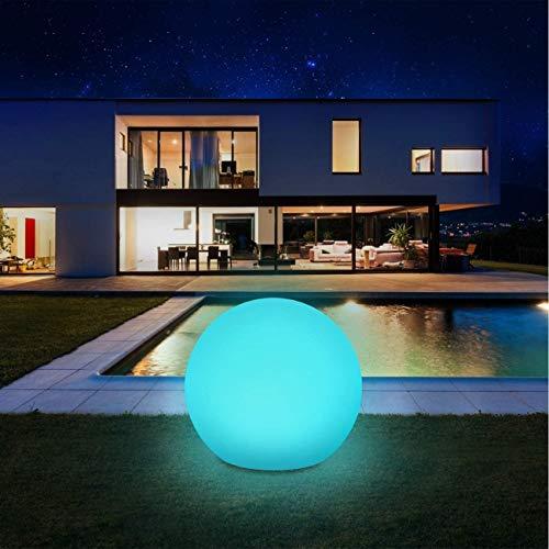 Solarlampen für außen, infray Solarleuchten für außen, Solar Gartenleuchten 30cm Solarkugel mit 9 Modi Leuchte, IP67 Wasserdicht LED Solarleuchten [Energieklasse A+++]