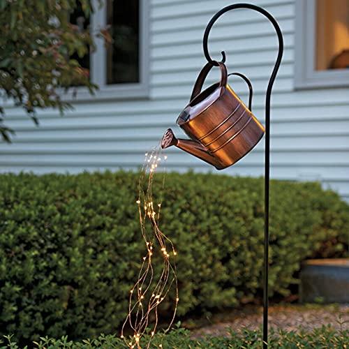 KV LED Solar Star Typ Dusche Garten Kunst Licht Dekoration Gartenarbeit Gartenlampe Garten Licht Dekoration LED Wasserfall Form Twinkle Lichterketten