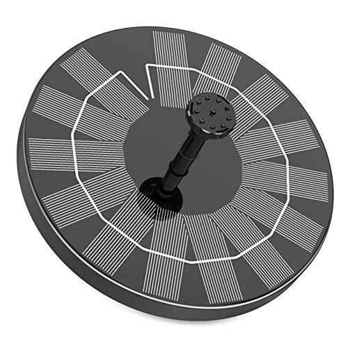 AISITIN 3.5W Solar Springbrunnen 2021 Upgrade, Solar Teichpumpe mit 6 Effekte Solar Wasserpumpe Solar schwimmender Fontäne Pumpe für Gartenteich Oder Vogel-Bad Fisch-Behälter