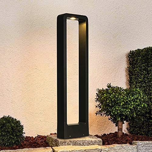 LED Wegeleuchten Aussen 12W Aussenleuchte Stehlampe Außen 3000K LED Pollerleuchte 60CM IP65,LED Gartenlampe Geeignet.