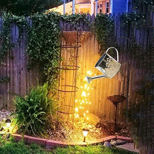 Star Shower Gartenleuchten Im Freien Gießkanne Bewässerungslichter, Solar LED-Lichter, Laternen, Sternlichter, Garden Art Light Dekoration (Size : B)