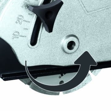 Einhell Mauernutfräse TH-MA 1300 (1320 W, Ø125 mm, Nutttiefe 30 mm, Nutbreite 26 mm, Softstart, Absaugadapter, 2 Diamant-Trennscheiben, Koffer) -