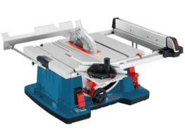 Bosch GTS 10 XC Professional Tischkreissäge, 2.100-Watt-Motor mit Motorbremse, Schnitthöhen bis 79 mm, Sägeblattdurchmesser 254 mm, Karton, 0601B30400 -