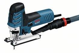 Bosch Professional GST 150 CE Stichsäge (mit 1 Sägeblatt T144D, max. 150 mm Schnitttiefe, 780 W, Koffer) 0601512000 -
