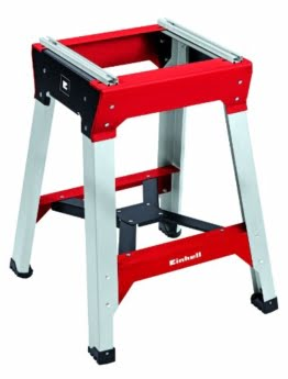Einhell E-Stand, passend für Einhell Home und Einhell Expert Kappsägen und Zug Kapp Gehrungssägen (Arbeitshöhe 810mm, höhenverstellbar) -