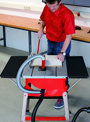 Einhell Tischkreissäge TC-TS 2025 U (1800 W, Sägeblatt Ø 250 x Ø 30 mm, max. Schnitthöhe 85 mm, Tischgröߟe 640x487 mm) -