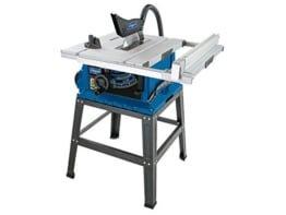 Scheppach Tischkreissäge 255-er Set, 230 V, 2000 W mit Tischverbreiterung und Untergestell, HS105 -